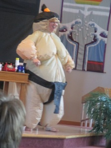 Shellie - Super Hero Sumo Wrestler
