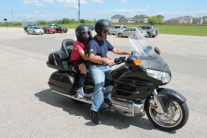 Motorcycle rides by Marv